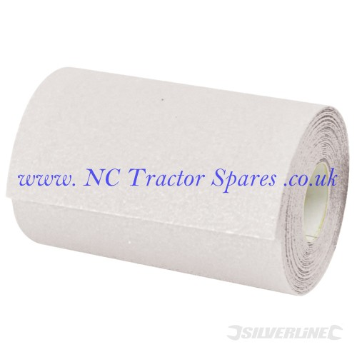 Stearated Aluminium Oxide Roll 5m 120 Grit (Silverline)