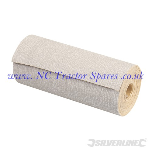 Stearated Aluminium Oxide Roll 5m 240 Grit (Silverline)