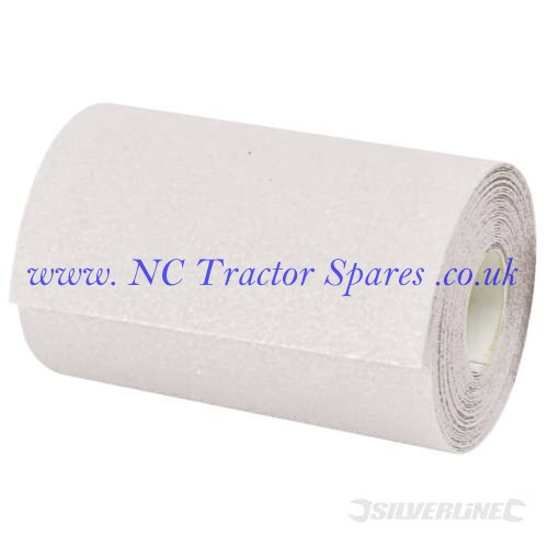 Stearated Aluminium Oxide Roll 5m 320 Grit (Silverline)