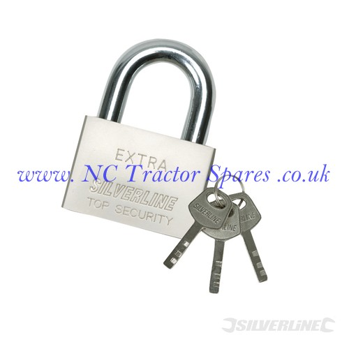 Steel Padlock 40mm (Silverline)