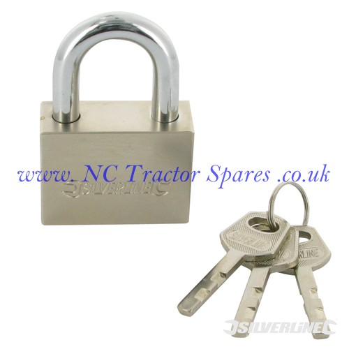 Steel Padlock 50mm (Silverline)