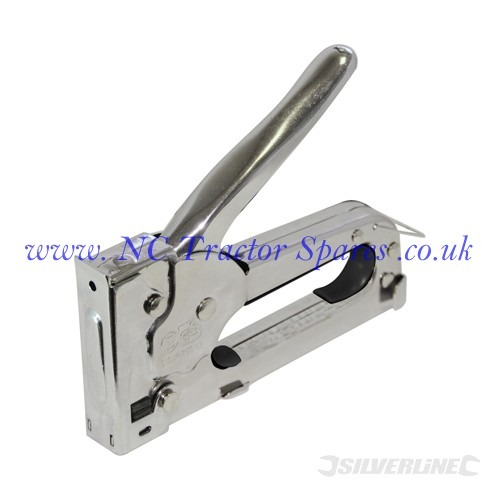 Steel Staple Gun 4-8mm (Silverline)