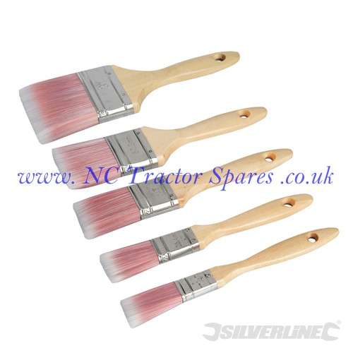 Synthetic Brush Set 5pce 5pce (Silverline)