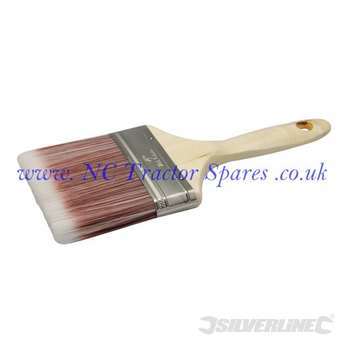 Synthetic Paint Brush 100mm (Silverline)