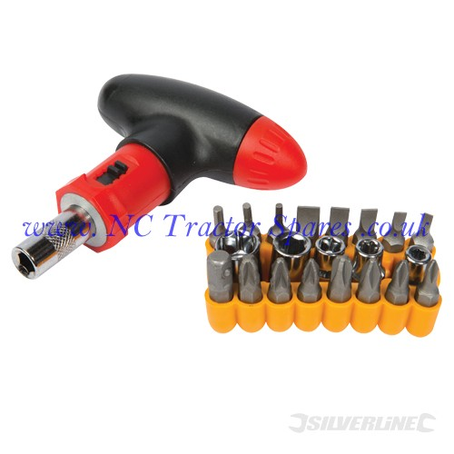 T-Handle Screwdriver Set 22pce 22pce (Silverline)