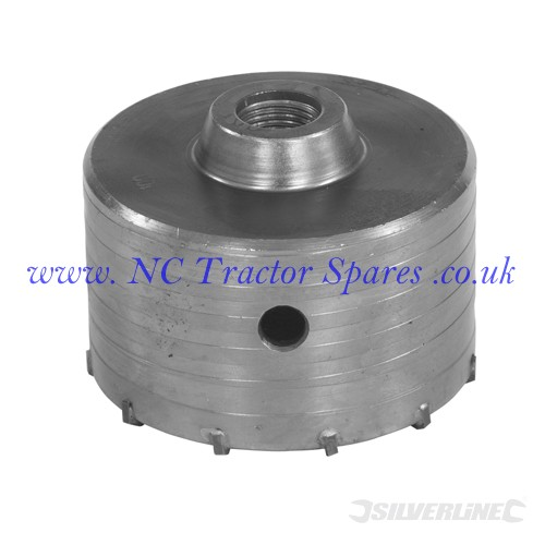 TCT Core Drill Bit 100mm (Silverline)