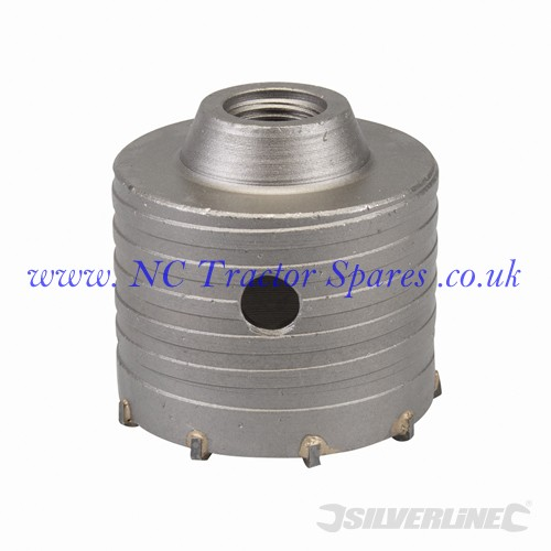 TCT Core Drill Bit 76mm (Silverline)