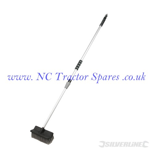 Telescopic Cleaning Brush 1.32m - 2.14m (Silverline)
