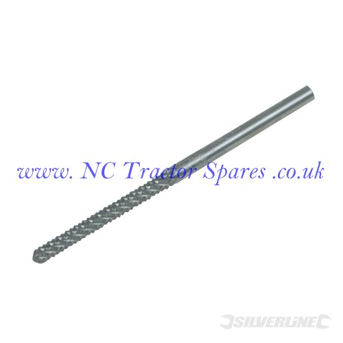 "Tile Cutting 1/8"" Spiral Saw Bit 1/8"" (Silverline)"