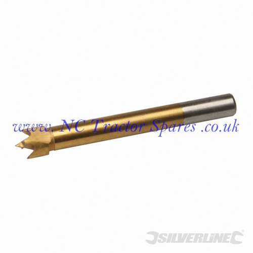 Titanium-Coated Forstner Bit 12mm (Silverline)