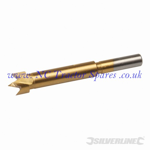 Titanium-Coated Forstner Bit 14mm (Silverline)