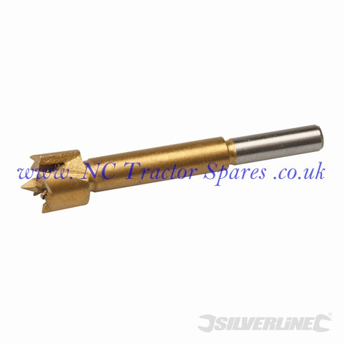 Titanium-Coated Forstner Bit 16mm (Silverline)