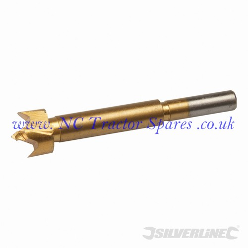 Titanium-Coated Forstner Bit 18mm (Silverline)