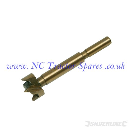 Titanium-Coated Forstner Bit 22mm (Silverline)