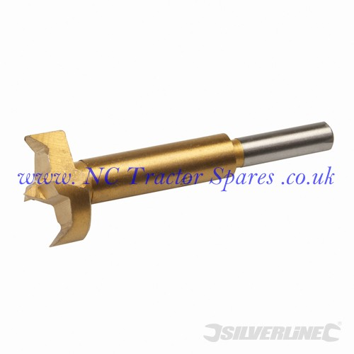 Titanium-Coated Forstner Bit 30mm (Silverline)
