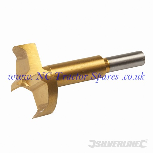 Titanium-Coated Forstner Bit 45mm (Silverline)
