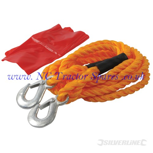 Tow Rope 2 Tonne 4m x 14mm (Silverline)