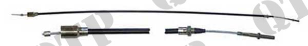Trailer Brake Cable 1200mm Threaded