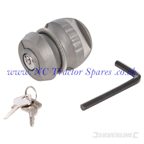 Trailer Hitch Lock 65 x 48mm (Silverline)