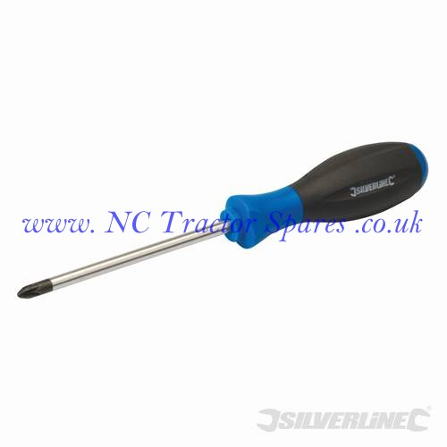 Turbo Twist Screwdriver PZD PZD2 x 100mm (Silverline)