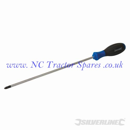Turbo Twist Screwdriver PZD PZD2 x 250mm (Silverline)