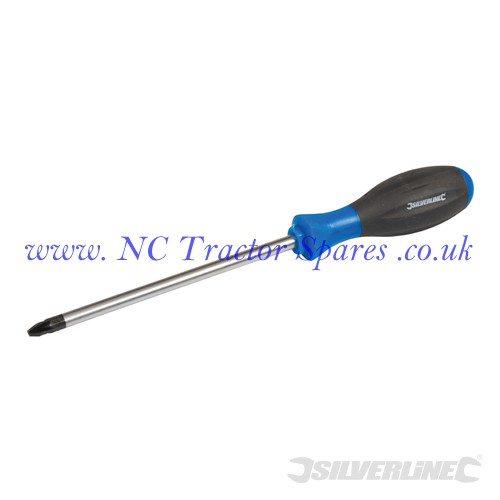 Turbo Twist Screwdriver PZD PZD3 x 150mm (Silverline)