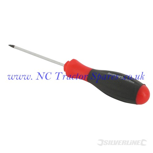 Turbo Twist Screwdriver Slotted Parallel 3.2 x 75mm (Silverline)