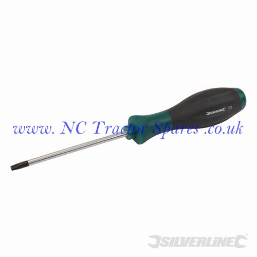 Turbo Twist Tamperproof Screwdriver Torx T25 x 100mm (Silverline)