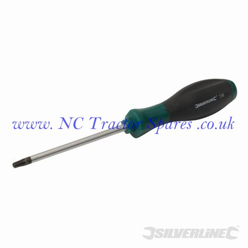Turbo Twist Tamperproof Screwdriver Torx T30 x 115mm (Silverline)