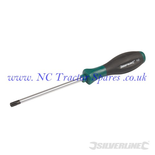Turbo Twist Tamperproof Screwdriver Torx T40 x 115mm (Silverline)