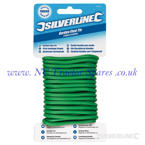 Twisty Ties 4.8mm x 5m (Silverline)