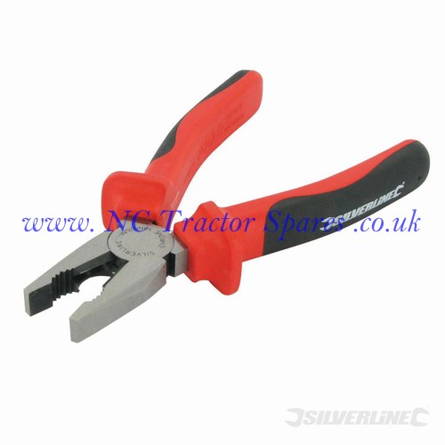 VDE Expert Combination Pliers 180mm (Silverline)
