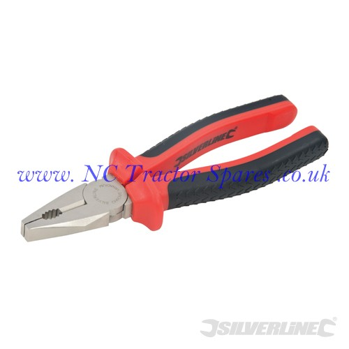 VDE Expert Combination Pliers 200mm (Silverline)