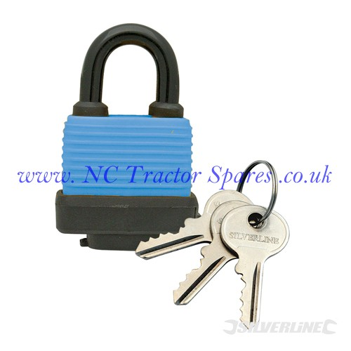 Weather Resistant Padlock 48mm (Silverline)