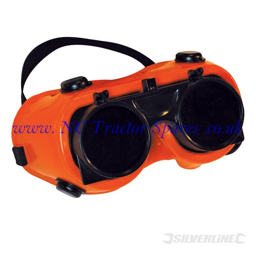 Welding Goggles Clear / No. 5 Green (Silverline)