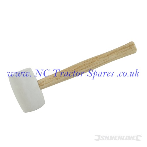 White Rubber Mallet 16oz (Silverline)