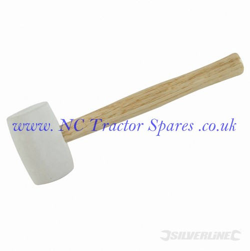 White Rubber Mallet 24oz (Silverline)