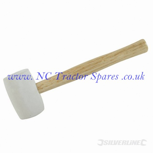 White Rubber Mallet 32oz (Silverline)